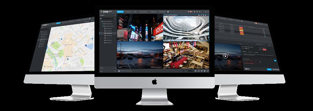 Software gestione centralizzata videosorveglianza